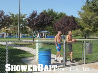 ShowerBait Basketball Friends Hit The Showers For After Practice Sex