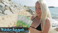Bikini blondes - Public agent petite blonde liz rainbow fucked on the beach in a bikini