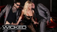 High definition cumshot pictures Jessica drake takes facials from 2 dicks - wicked pictures