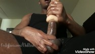 Discussions on having gay male sex - Issanut fucks a sex toy and cums