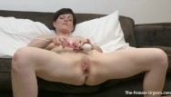 Sexy ass porn two bate - Milf bates fleshy pussy to two groaning pulsing orgasms