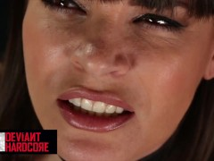 Deviant Hardcore - Sub Dana Dearmond gets dominated and choked by big cock