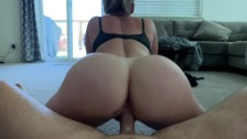 """ppthedp - 52"""" PAWG Squirts On Carpet, Creampied Her Pussy"""