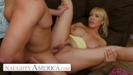 Rate my boobs americas blog favorite - Naughty america - step-mom dana dearmond plays with her sons friend