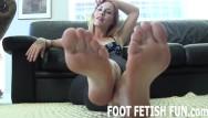 Free foot fetish porn movie Pov foot fetish and femdom feet porn