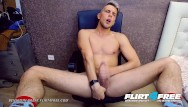 Free gay college pron - Flirt4free - benjamin great - athletic college stud eats his own cum