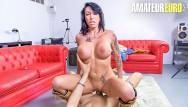 Busty brunettes fucked hard Las folladoras - amateur fucking a real busty pornstar - amateureuro
