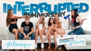 Sex lobez Interrupted 5 year anniversary sex - girlsway