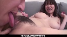 Steamy Japanese milf, Miina Kanno, impressive s