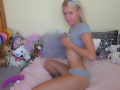 Horny Youthfull (german) Teenage Very First Selfmad In Front Of The Camera