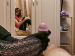Footjob In Nylon Socks For Valentine's Day #vday2020