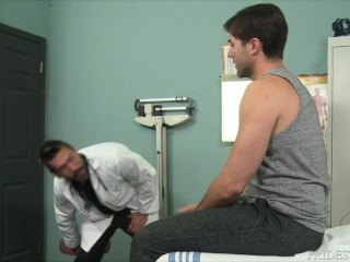 Latin Doctor Helps Patient With His Dick – ExtraBigDicks