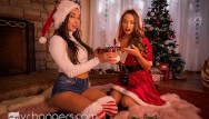 Porn filter mac - Vr bangers hot lesbians playing with dildo under the christmas tree vrporn