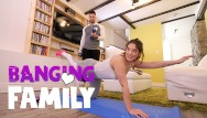 Mather family fuck - Banging family - yoga fuck with my hot step-sis