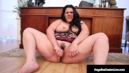 Busty ass plump hut sluts Busty curvy cuban angelina castro dildo fucks her thick plump pussy