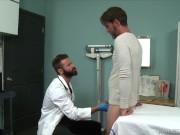 Patient Gets Hard As Dr Checks Balls - MenOver30