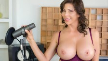 VR BANGERS Professional MILF Singer Squirting On Microphone VR Free Porn