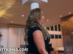 Reality Kings - Thick Ass Big Tit Cougar Eva Notty Rides Younger Cock