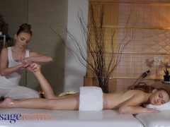 Massage Rooms Super-cute Czech Lezzies Scissoring Jenny Wild And Lady Bug