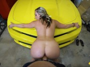 Roadside - Luxury Babe Gets Pussy Banged On A Sports Car