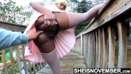 Innocent nude boy videeos - Innocent school girl spread ebony pussy on bridge for pervert older boy