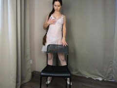 Milf In Milky Underwear Brings Herself To A Climax - Catherinerain