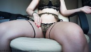 Underwear models sexy Masturbation in a beautiful underwear from sexy girl