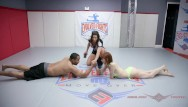 Wemens erotic wrestling - Alexa nova has limited chance in man vs women arm wrestling test