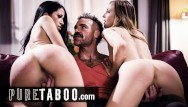 Rough fucking wives Bigamist catches his 2 wives cheating on him- pure taboo