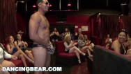 Erotic dance party Dancingbear - crazy cfnm orgy with lots of slutty ladies