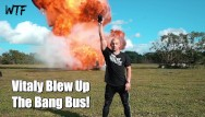 Angry handjobs Bangbros - angry vlogger destroys our van because he couldnt get hard wtf