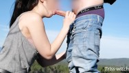 Sex witch story Sex on a hike - blowjob and doggystyle above the forest. triss-witch