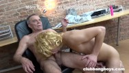 Old man seduces young man gay - Twink cant get enough of old mans cum