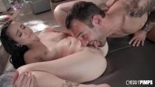 Asian Babe Mi Ha Doan Turns Massage Into Fucking Action