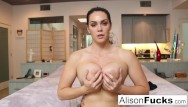 Busty tyler - Busty alison tyler helps the viewer cum