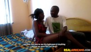 Real african porno tribe - Hot ebony teen couple fucks at home
