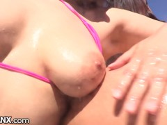 Valentina Nappi & Ivy Lebelle are Big Booty Anal Lesbians