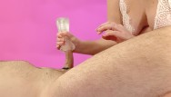 Adult toy fleshlight Handjob and fleshlight cumshot with anal play - misstease