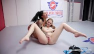 Maya gates lesbian - Lily lane vs maya kendrick pussy eating in dominant wrestling sex fight