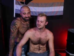 Atlas Grant Ass Nails Shy Bear Chandler Scott - Bearback