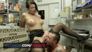 Sex at work kitchen 987 Sex in the kitchen with anna polina