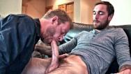 I swallowed cum gay - Huge cock serviced twice the cum - swallowing 2 huge cum loads - slurp