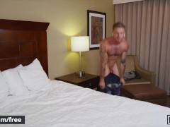 Mencom - Tattooed Hairy Man Roomate Bare My Taut Caboose - Blake Ryder Cazden Hunter