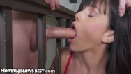 Dick stuck in pool vac Mommyblowsbest - taking advantage of mom while shes stuck