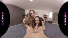 PORNBCN VR Threesome Katrina Moreno Ginebra Belucci POV virtual reality 4K