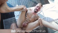 Gay handjob interracial Gayroom massage handjob masterpiece at its finest