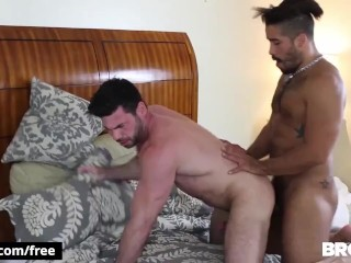 BROMO – Two Athletic hunks after a swim
