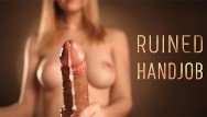 Free amateur handjob movie Pov ruined cumshot - sensual edging with intense handjob