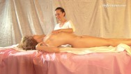 Xxx hot oil massage First time pussy massage super hot