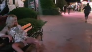 Nude in public exhibitionist Crazy girl masturbate and pee on public street-public exhibitionist